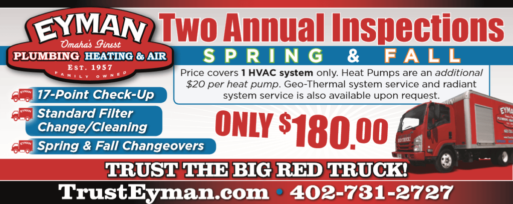 Two Annual HVAC Inspections Special