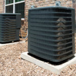 Residential building air conditioning units
