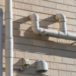 ugly exterior plumbing pipes