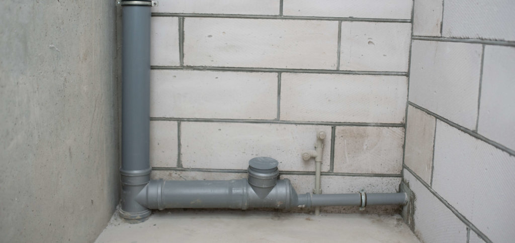 exposed pipes